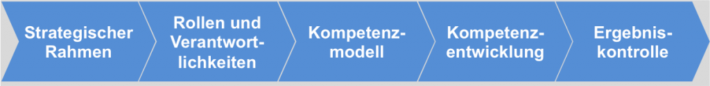 Phasen Kompetenzmanagement