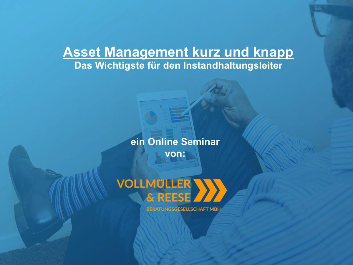 NEU: Ab 28.07. Asset Management kurz und knapp - Das Wichtigste für den IH-Leiter